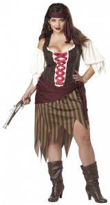 Костюм отчаянной пиратки плюс