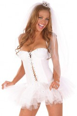 Костюм невесты-балерины
