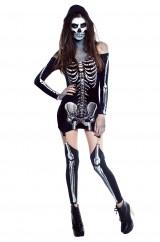 Костюм скелета девушки