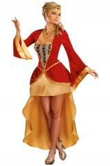 Костюм средневековой королевы