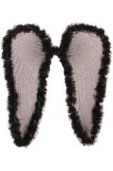 Крылья ангела черные