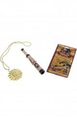 Набор пирата с медальоном и трубой