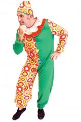 Костюм веселого клоуна