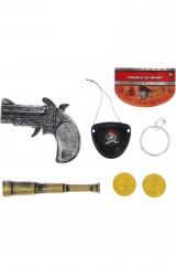 Пиратский набор с подзорной трубой