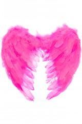 Ярко-розовые ангельские крылья