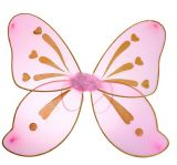 Разноцветные крылья феи розовые