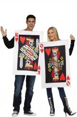 Карточный король и королева