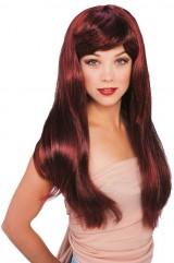 Бордовые волосы