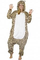 Веселый леопард