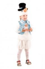 Костюм снеговика со шляпой детский