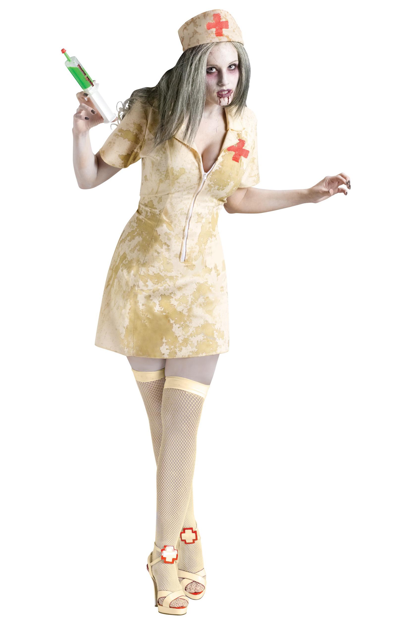 Страшная зомби-медсестра