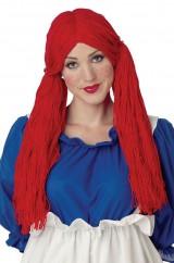 Красный парик куколки