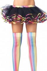 Мини-юбочка с цветными краями