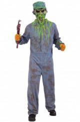 Страшный сантехник-зомби