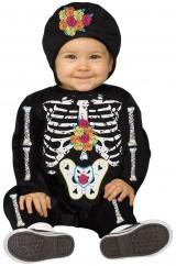 Малышка-скелетон