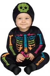 Разноцветный скелетон