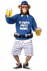Пьющий шимпанзе