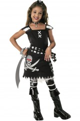 Юная пиратка-разбойница