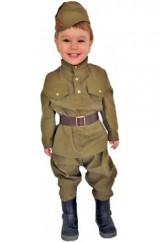 Маленький военнослужащий