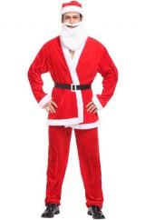 Веселый Санта-Клаус