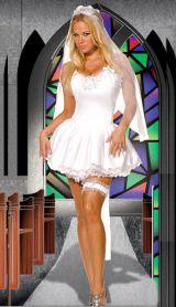 Костюм очаровательной невесты