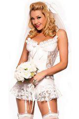 Костюм ажурной невесты