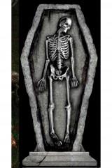 Надгробная плита Скелет