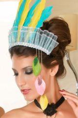 Шляпка Индейской девушки