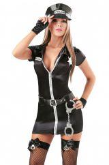 Костюм девушки - полицейского