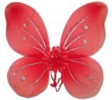 Крылья феи красные