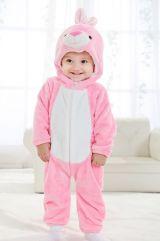 Костюм маленького розового кролика