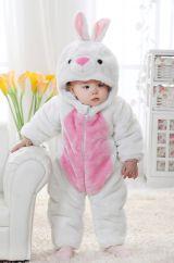 Костюм маленького белого кролика