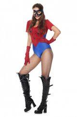 Костюм девушки человека-паука
