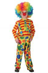 Костюм радужного клоуна