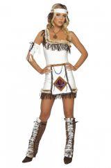 Костюм индейской невесты