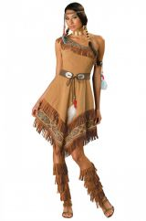 Костюм воинственной индейской женщины