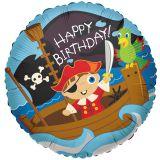 Воздушный шар с пиратом