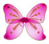 Разноцветные крылья феи ярко розовые