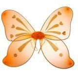 Разноцветные крылья феи оранжевые