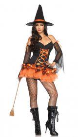 Костюм оранжевой ведьмы