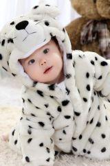 Костюм малыша снежного барса