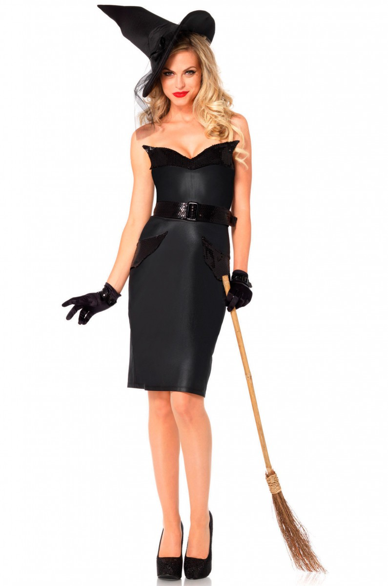 Костюм модной ведьмы