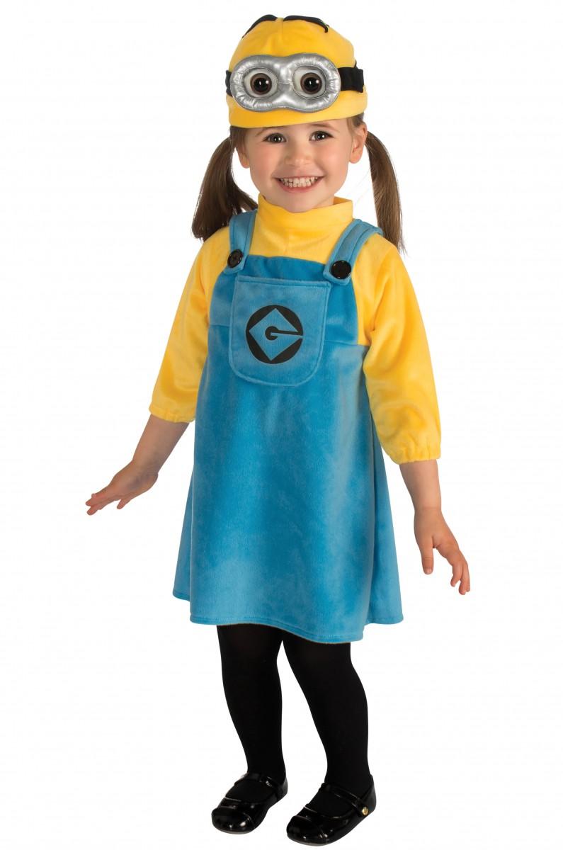 Маленькая девочка миньон