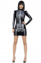 Костюм стройного скелета
