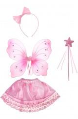 Маленькая фея в розовом