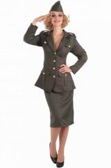 Военная женщина