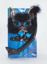 Набор Черный кот блестящий