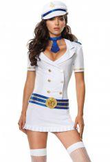 Костюм отважного капитана в белом