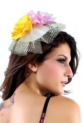 Цветочная шляпка