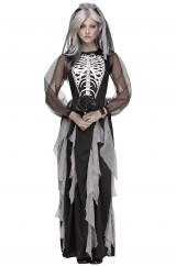 Мрачная невеста-скелетон